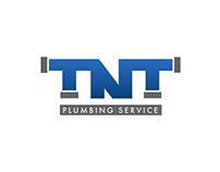 TNT Plumbing Service Logo Design