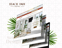 Beach Park Hotel - Website Redesign
