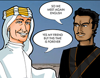 Homage for the passing of Omar Sharif