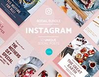 Instagram Social Media Template for Canva