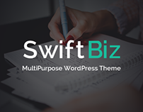 SwiftBiz Multipurpose Business WordPress Theme