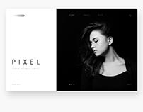 Pixel Landing Page