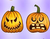 Mahjong Tiles - Halloween Theme