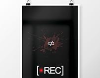 Cartel minimalista de la película 'Rec'