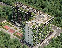 Residential complex, Ukraine PV Architect Package