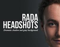 Headshots at Royal Academy of Dramatic Arts, London