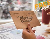 Envelope V03 – Free PSD Mockup