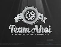 VERSUS • Team Ahoi - Supporters Division • The Logo