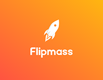 Brand identity design for Flipmass