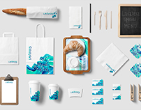 Lavatera cafe brand design