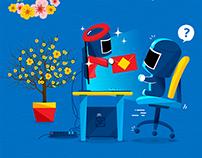 Intel - Facebook App - Greeting Card - Gửi lời chúc