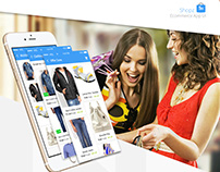 Shopz e-commerce App UI