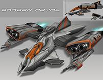 Dragon Royal - Space ship