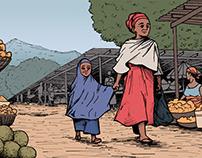 Short Comic Illustration