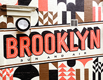 Sun & Air Brooklyn Mural