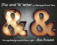FREE Ampersand Letter For Marquee Front