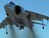Harrier - Vertical Takeoff Viz.