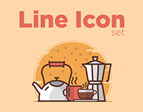 Line icons for website