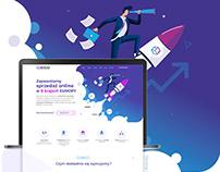 Sogo - Landing page & Application