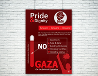 Poster  :: Gaza On the Brink of Explosion ::