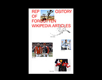 REPOSITORY OF FORGOTTEN WIKIPEDIA ARTICLES