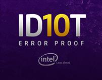 Intel - 1D10T Error Microsite