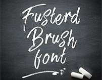 Freebie - Fusterd Brush Fonts