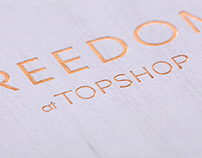 FREEDOM at TOPSHOP - Look book
