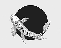 Koi Illustration