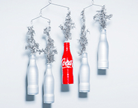 The Coca Cola Art Slim Bottle Charity