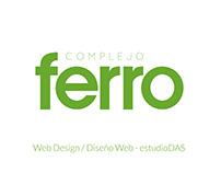 Hotel Comedor Ferro / Diseño Web