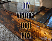 DIY : Vintage Tool Box