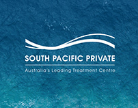 Re-branding Project Mockups - South Pacific Private