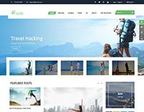 SJ Urline - A Clean & Creative Travel Joomla Template
