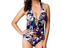 Swimsuit Print for Robert Graham X Letarte