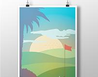 Ilustración Publicitaria | Hotel Jardín Tropical