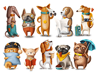 Dog characters