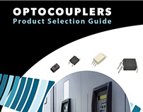 Optocouplers Brochure Cover Design