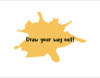 Creative Kit for Therapy | Draw you way out!