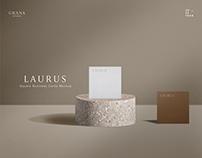 Square Business Card Mockup Kit