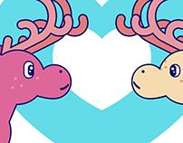 #loveislove animation loop