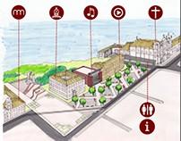Plano Urbano - Centro Histórico de Salvador