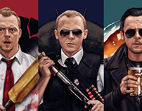 Simon Pegg Cornetto Trilogy (officially licensed)