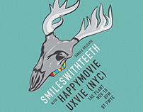 Smileswithteeth gig poster