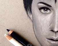 Sketch of Katy Perry