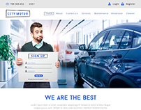 City Motor ( Web Template)