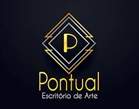 Logotipo para Pontual - Escritório de Arte