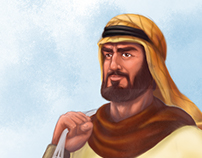Character Design for (Bahr Al-Emirate)