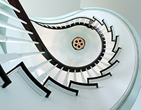 House with the spiral stairs