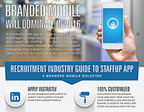 Staffing Mobile App Brochure